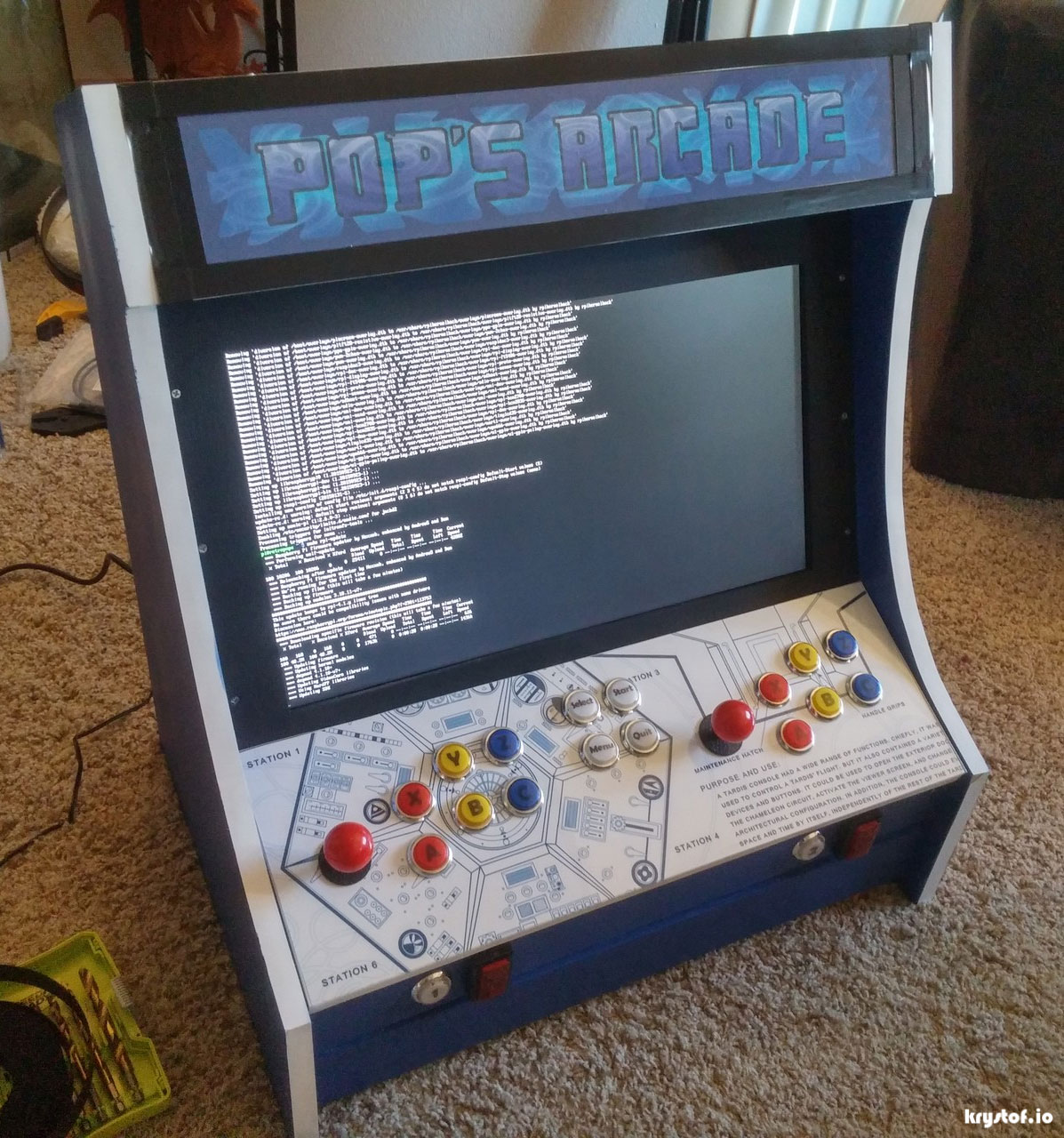 Tardis Arcade Together